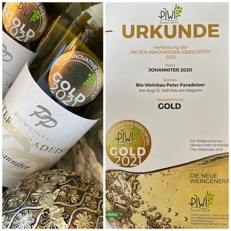 Johanniter Gold